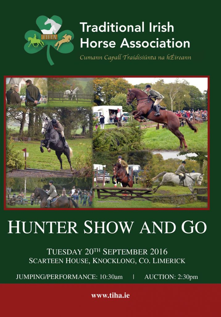 TIHA Hunter Show & Go Catalogue 2016