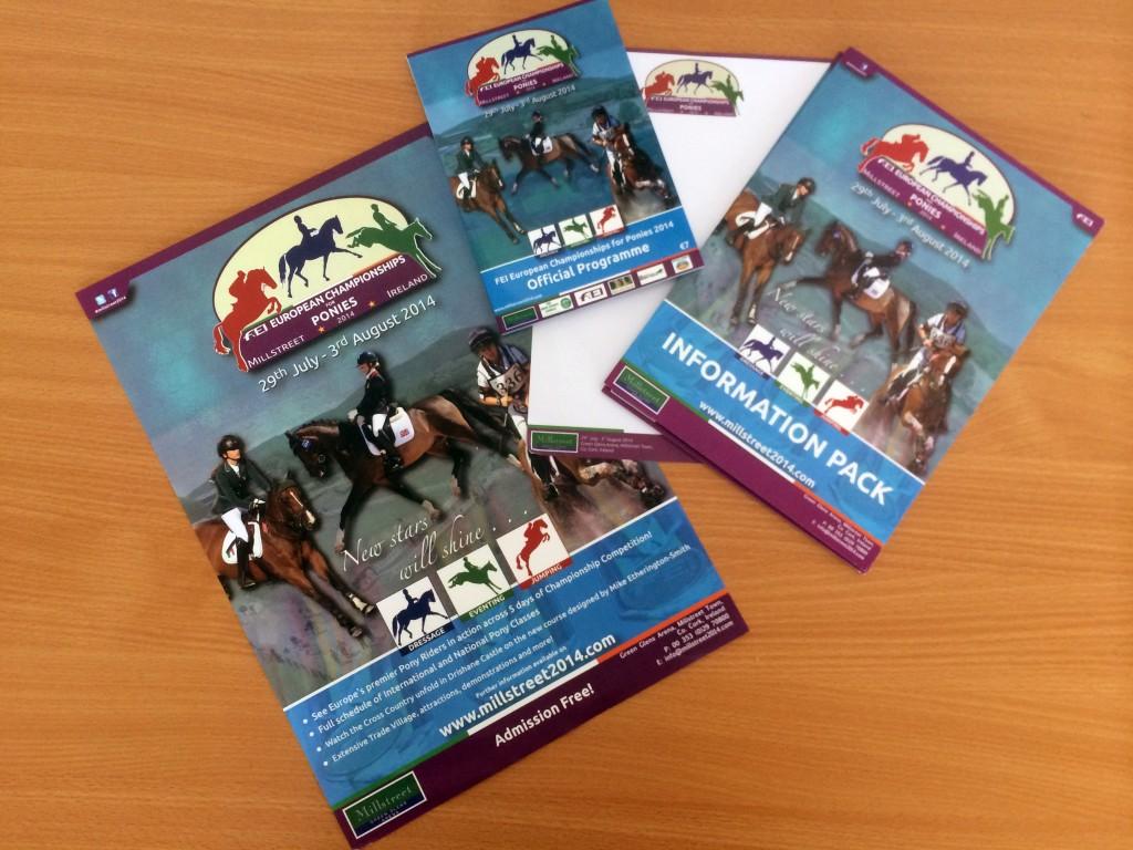 FEI European Championships for Ponies 2014 – Branding