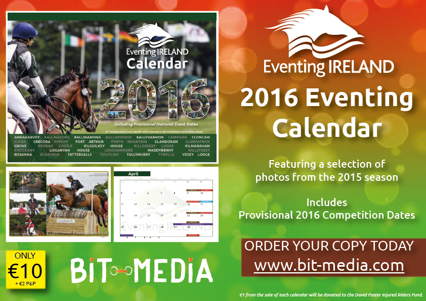 Eventing Ireland Calendar 2016