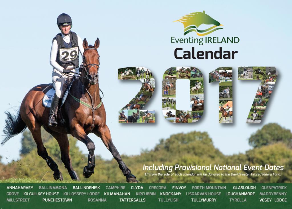 Eventing Ireland Calendar 2017