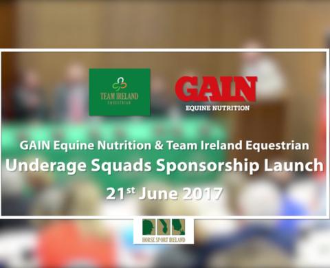 Team Ireland Equestrian – GAIN Equine Nutrition