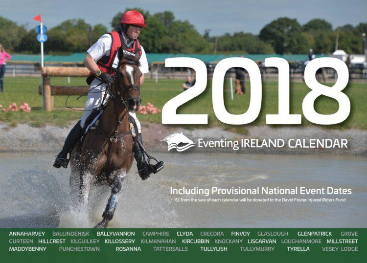 Eventing Ireland Calendar 2018