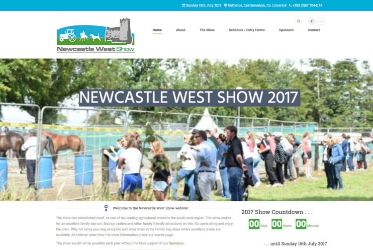 Newcastlewest Show Website