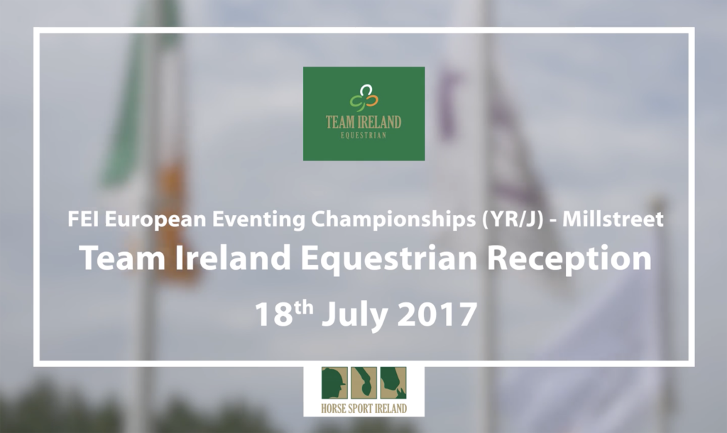 Team Ireland Equestrian at Millstreet 2017
