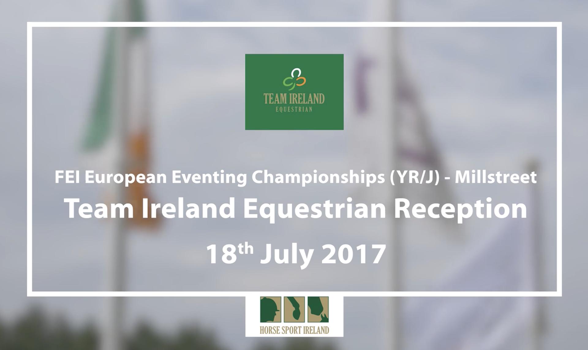Team Ireland Equestrian at Millstreet 2017