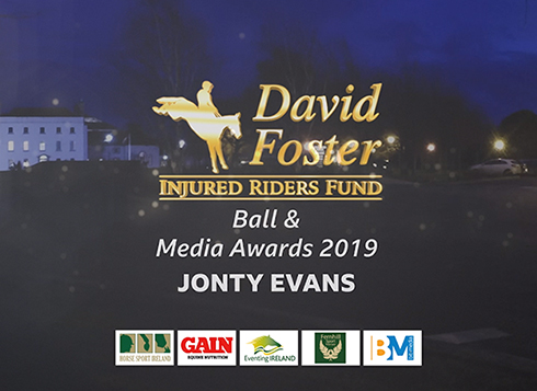 David Foster Injured Rider's Fund Ball 2019