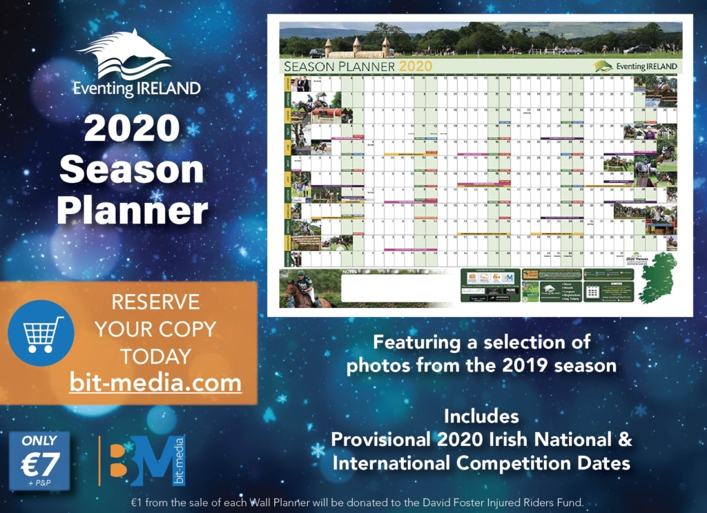 Eventing Ireland 2020 Season Planner