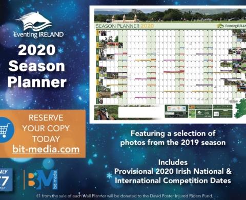 Eventing Ireland 2020 Season Planner