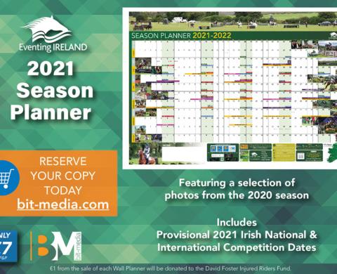 Eventing Ireland 2021 Season Planner